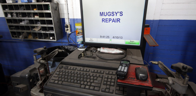 Computer Diagnostics at Mugsy's Repair
